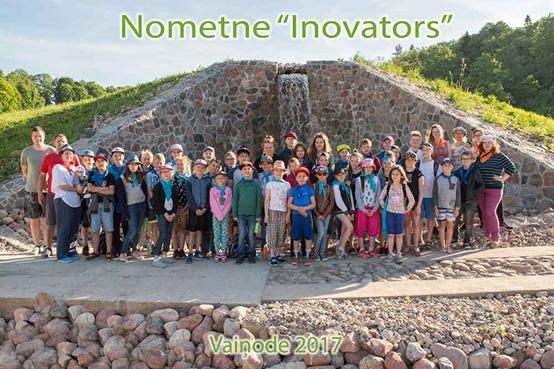 """Vasaras nometne """"Inovators 2018"""""""