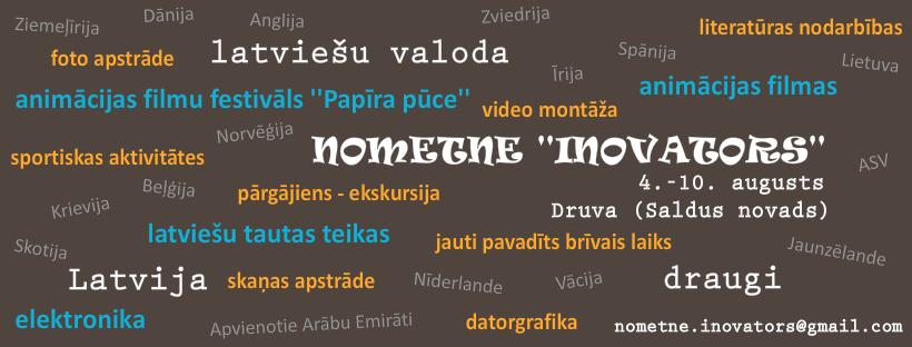 """Nometne diasporas bērniem """"INOVATORS 2019"""""""