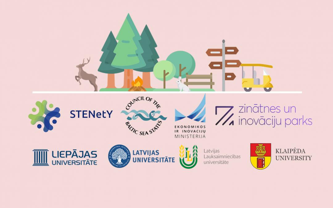 """Projekta """"Ilgtspējīga tūrisma attīstība Baltijas reģionā"""" ietvaros tiek veidota darbnīca  12. klases skolēniem un studentiem"""