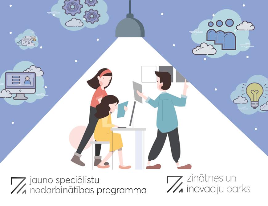Jauno speciālistu nodarbinātības programma – iespēja jauniešiem gūt praktiskās iemaņas darba vidē