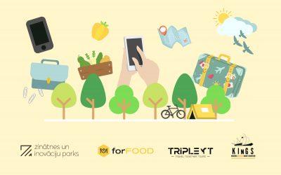 """Jauni risinājumi ēdināšanas un tūrisma jomās sadarbībā ar """"KInGS"""" studentu komandām"""
